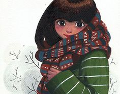 "Check out new work on my @Behance portfolio: ""Girl in Winter"" http://be.net/gallery/51165569/Girl-in-Winter"
