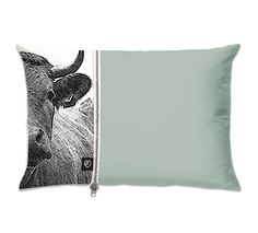 Nice cow pillow! Great idea as well!