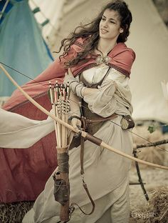She had a grace about her, the way she could fire an arrow or draw a sword. Yet she had a fierceness, a passion that would rage and roar whenever she went to battle.