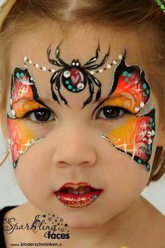 Die 35 Besten Bilder Von Fasching Gesichter Schminken Painted