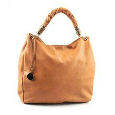 Sand-Color Leather Tote HandBag, Tan Tote, Beige Handbag,