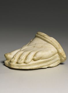The Front of a Roman Marble Left Foot, Circa 1st Century A.D.