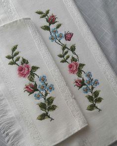 Baby Cross Stitch Patterns, Cross Stitch Borders, Cross Stitch Rose, Cross Stitch Samplers, Cross Stitch Flowers, Baby Knitting Patterns, Cross Stitching, Cross Stitch Embroidery, Hand Embroidery Design Patterns