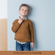 E-mail - Marie-louise Van Ham - Outlook Knitting For Kids, Knitting Projects, Baby Kind, Knit Patterns, Pulls, Kids Boys, Boy Outfits, Little Ones, Crochet Baby