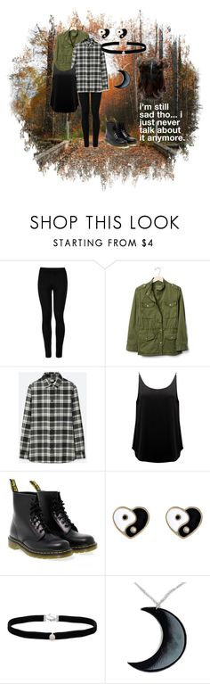 """""""just an outfit i like, and still need to wear"""" by galaxyirwxn on Polyvore featuring Wolford, Gap, Uniqlo, BA&SH, Dr. Martens, Accessorize, Amanda Rose Collection and Curiology"""