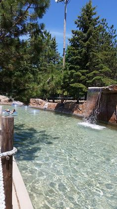 Our Adventure River is a great way to cool off and relax after a long day of fun!