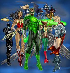 DC heroes | DC Heroes by ~Inhuman00 on deviantART