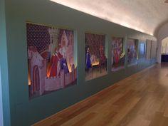 Cliente: Museo della Civiltà Cavalleresca- Interior Decoration - Stampa e allestimento su Pannelli Di-Bond - Castiglia - Saluzzo - #interiordecoration #museum #digitalprint