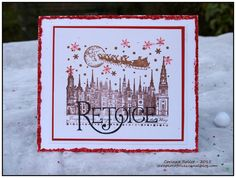 Christmas card - Les folies de Coco... with CI-254 and CI-446