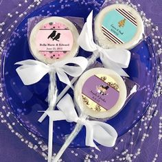 Design Your Own Collection Lollipop Favors from Wedding Favors Unlimited