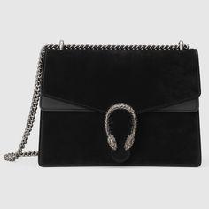 Gucci Women - Dionysus suede shoulder bag - 403348CEMMN1000