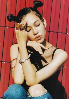 teammizuhara:Kiko Mizuhara for Perk Magazine March 2015