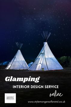 Whether you have a teepee, treehouse, bell tent, yurt, geodome, hut, truck, caravan, canal boat, train, plane or something even more unusual, this design package will give you a complete and bespoke design plan to follow. Get the interior design wow factor you need to make your site a real destination that is booked up all season with help from Zoe Hewett, interior designer on BBC's My Unique B&B. #myuniquebnb #glamping #decor #interior #design #airbnb Interior And Exterior, Interior Design, Bell Tent, Canal Boat, Air B And B, Bespoke Design, Glamping, Bristol, Outdoor Gear