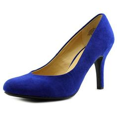 Isabel Women Textile Blue Heels   available at #Loehmanns