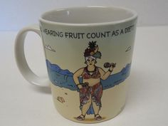 Square One  Does Wearing Fruit Count As A Diet? Coffee mug