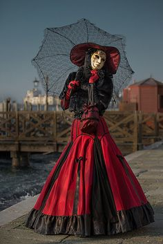 Venice Carnival 2014 ...romantic red and black