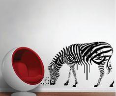 El zebre ,décalque décoratif