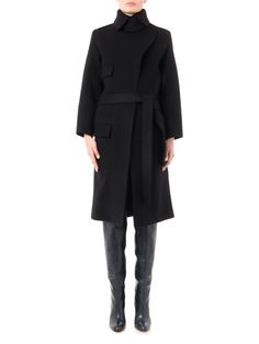 Lucas Nascimento Wool-Felt Tailored Coat