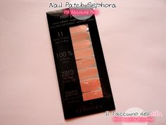 Il Taccuino dellElfa: Nail Patch 03 Absolute Pink Sephora