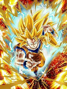 Goku Ss3 #dbz #db #dragonball