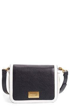 Black & White Marc Jacobs Crossbody Bag