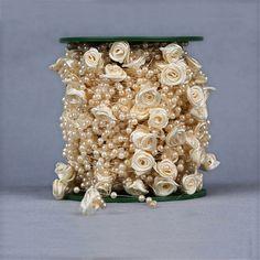 Aliexpress.com: Acheter 5 metros ligne de pêche artificielle perles fleur perles chaîne fleurs Wedding Party Garland décoration produits d'alimentation de panneaux décoratifs muraux fiable fournisseurs sur Shine Wedding Decoration Co., Ltd.
