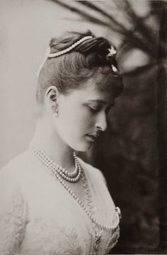 Princess Elisabeth of Hesse and by Rhine, also known as Ella (the future Grand Duchess Elizabeth Feodorovna of Russia)
