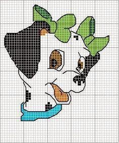 Ricami, lavori e centinaia di schemi a punto croce di tutti i tipi, gratis: Raccolta di schemi punto croce -cartoni animati - la carica dei 101