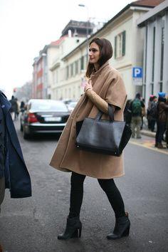 Great coat, great bag!
