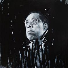 ARTWORK. Samuel. Portrait. Oil on canvas, 65x65cm.