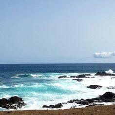 Bliss, waves on Santiago island #CaboVerde #Kaapverdie