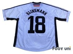 Germany 1998 Home #18 Klinsmann - Classic , old clothes , it is the net shop of vintage football shirts(Soccer Jerseys). Assortment of difficult rare item available is also abundant.
