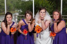Loughridge Wedding at Kirkland Chapel. #Bridesmaids #BridalParty #LoughridgeWeddings