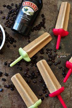 Irish Coffee Poptails These Boozy Ice Pops Want To Fuel Your Summer Summer Drinks, Fun Drinks, Alcoholic Drinks, Alcoholic Popsicles, Beverages, Alcoholic Ice Cream, Summer Parties, Frozen Desserts, Frozen Treats