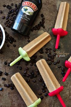Baileys Cocktail Popsicles #recipe
