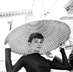 Audrey Hepburn in Rome, May 1955.