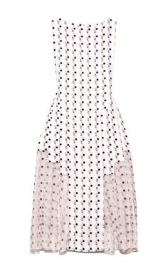Shop Geo Printed Crepe Layered Dress by Thakoon for Preorder on Moda Operandi