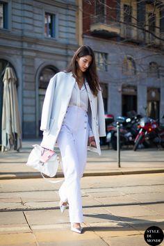 Milan Fashion Week FW 2014 Street Style: Sara Nicole Rossetto - STYLE DU MONDE