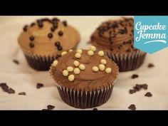 How to make Perfect Chocolate Buttercream | Cupcake Jemma - YouTube