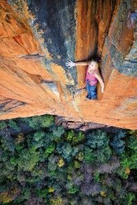 Sasha-DiGiulian sending in South Africa,  That rock looks awwwwmazing
