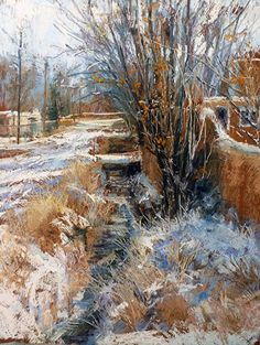 Camino Del Monte Sol by Margi Lucena Pastel ~ 14 x 11