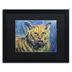 'Chairman Meow' by Lowell S.V. Devin Giclée Framed Painting Print