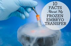 Great article on Babble by a woman who is presently undergoing a frozen embryo transfer...it is interesting to note that recent research has shown very good success rates in FET's.