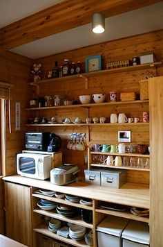 kitchen wooden shelf