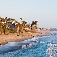 """San Clemente, California. Built in the 1920s as a """"Spanish Village by the Sea,"""" San Clemente has about 300 sunny days annually and some of the best surf on this coast. 