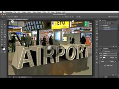 How to Match 3D Ground Planes With a Vanishing Point Using Photoshop CS6 Extended - YouTube
