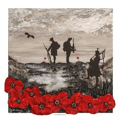 Commissioned by Poppy Scotland as their World War One Armistice Centenary image, Jacqueline's painting, Scotland Remembers, reflects the distinctive Poppy Scotland remembrance poppy and commemorates the 100 years since the end of WWI. Art Prints, Military Sleeve Tattoo, Original Paintings, Remembrance Day Art, Painting, Art, First Art, Original Art, Original Artwork