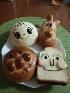 アンパンマンミュージアムのパンたち