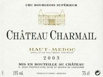 """GrapePip Auction: 2005 Château Charmail, Haut-Médoc. Lot live in August 2014. £160 in bond a dozen opening bid. """"Another fabulous sleeper ...exquisite, sexy, deep purple-hued effort...plenty of creme de cassis notes intermixed with notions of licorice, charcoal, and cedar, sweet fruit, round, ripe tannins, an endearing opulence, and a long finish..."""" Robert Parker"""