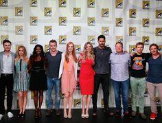 El elenco de True Blood durante la Comic-Con ~ ActorsZone